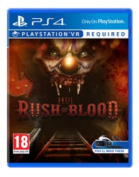 PS4 VR Until Dawn: Rush of Blood ENG/FR-Vooraanzicht