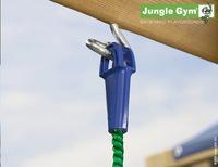 Jungle Gym houten schommel Cottage met groene glijbaan-Artikeldetail