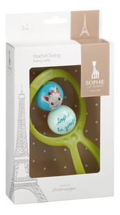 Sophie la girafe rammelaar Swing groen-Linkerzijde