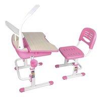 Vipack bureau Kids comfortline 301 avec lampe rose-Côté droit