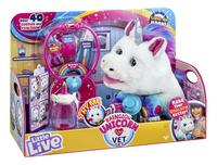 Peluche interactive Little Live Pets Rainglow Unicorn Vet Set-Côté gauche