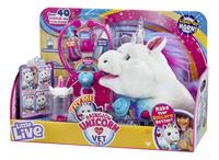 Peluche interactive Little Live Pets Rainglow Unicorn Vet Set-Côté droit