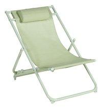 Strandstoel groen-Vooraanzicht