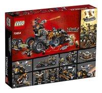 LEGO Ninjago 70654 Le véhicule de combat Dieselnaut-Arrière