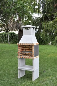 Movelar barbecue au charbon de bois Brick Zon-Image 3