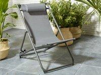 Strandstoel grijs-Afbeelding 1