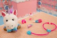 Peluche interactive Little Live Pets Rainglow Unicorn Vet Set-Image 3