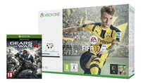 XBOX One S 1 TB + Fifa 17 + Gears of War 4