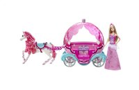 Barbie set de jeu cheval et carrosse