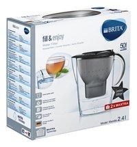 Brita Carafe filtrante Marella fill & enjoy glitter black 2,4 l