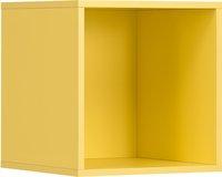 Kubus voor kleerkast Basil geel-Vooraanzicht