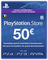 PlayStation Store Network Card 50 euros