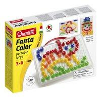 Quercetti insteekparels Fanta Color large 100 stuks met handvat