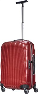 Samsonite Harde reistrolley Cosmolite Spinner red 55 cm