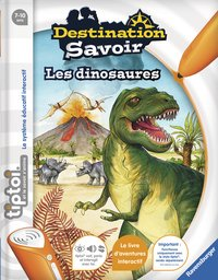 Ravensburger Tiptoi Destination Savoir : Les dinosaures FR
