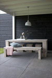 Dutchwood table de jardin brun 160 x 100 cm-Image 3