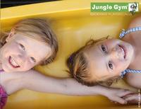 Jungle Gym portique en bois Cubby avec toboggan jaune-Détail de l'article