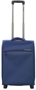 Saxoline Valise souple On Plane Upright bleu 55 cm-Avant