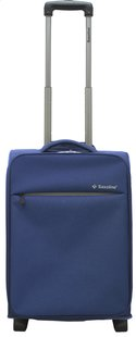 Saxoline Valise souple On Plane Upright bleu 55 cm