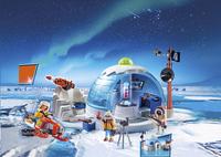 Playmobil Action 9055 Hoofdkwartier Poolexpeditie -Afbeelding 1