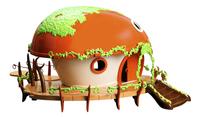 Monchhichi maison dans les arbres Deluxe-commercieel beeld