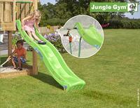 Jungle Gym tour de jeu en bois House avec toboggan vert