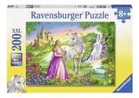Ravensburger puzzel Prinses met paard-Vooraanzicht