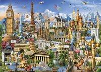 Educa Borras puzzle Symboles européens-Avant