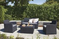 Allibert Ensemble Lounge Corona gris graphite-Image 1