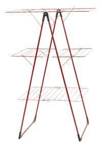 Brabantia Séchoir-tour avec 3 surfaces d'étendage passion red
