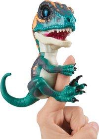WowWee interactieve figuur Fingerlings Untamed Velociraptor Fury-commercieel beeld