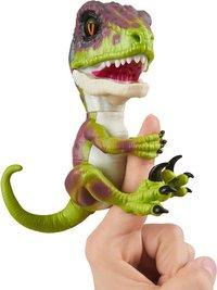 WowWee interactieve figuur Fingerlings Untamed Velociraptor Stealth-commercieel beeld