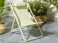 Strandstoel groen-Afbeelding 1