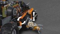 LEGO Ninjago 70654 Le véhicule de combat Dieselnaut-Image 4