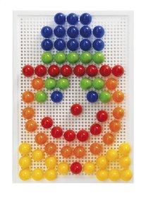 Quercetti mosaïques Fanta Color portable large 100 pièces-Avant
