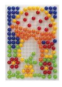 Quercetti mosaïques Fanta Color portable large 150 pièces-Avant