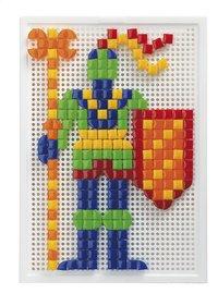 Quercetti mosaïques Fanta Color portable large 300 pièces-Avant