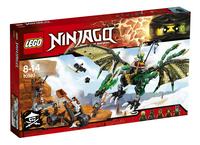 LEGO Ninjago 70593 De groene NRG draak-Vooraanzicht