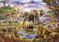 Educa Borras puzzle Sous l'arc-en-ciel-Avant