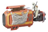 Star Wars ruimteschip Speeder met Rey-Artikeldetail