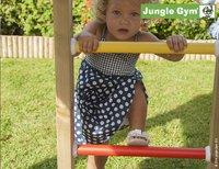 Jungle Gym houten schommel Cottage met groene glijbaan-Afbeelding 3