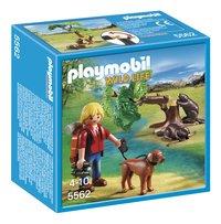 Playmobil Wild Life 5562 Bevers met natuurwetenschapper