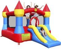 Happy Hop château gonflable Castle avec toboggan-Image 1