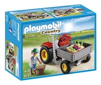 Playmobil Country 6131 Fermier avec faucheuse-Avant