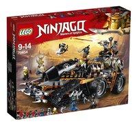 LEGO Ninjago 70654 Le véhicule de combat Dieselnaut-Côté gauche