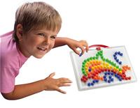 Quercetti mosaïques Fanta Color portable large 150 pièces-Image 1