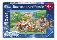 Ravensburger puzzle 2 en 1 Les 7 nains