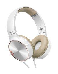 Pioneer hoofdtelefoon SE-MJ722T bruin/wit