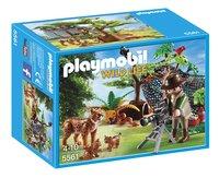 Playmobil Wild Life 5561 Explorateur et famille de lynx