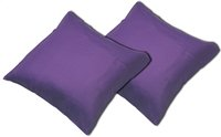 Sleepnight set de 2 taies d'oreiller mauve